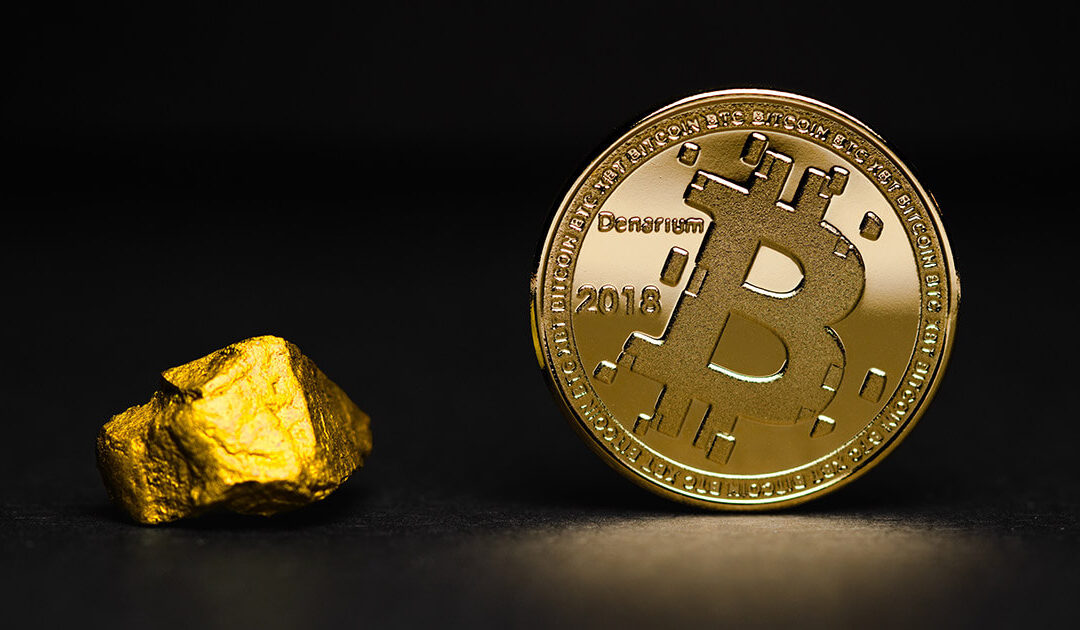 Bitcoin & Emas Capai Korelasi Bulanan 70% & Tertinggi Sepanjang Masa (ATH)